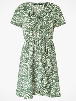 Vero Moda Klänning vmOlivia Frill SS Short Dress Color