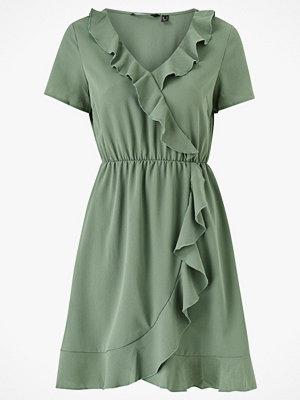 Vero Moda Klänning vmOlivia Frill SS Short Dress Color