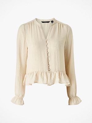 Vero Moda Blus vmIsabella LS Mini V-neck Shirt