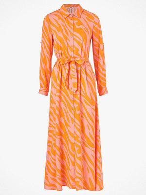 Object Maxiklänning objElenora L/S Long Shirt Dress