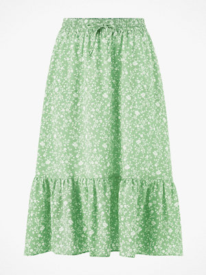 Only Kjol onlNadja-Addiction Long Aop Skirt