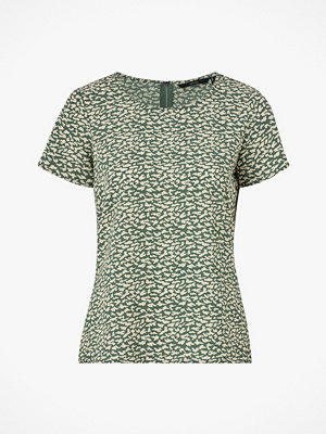 Vero Moda Blus vmSasha SS Zip Top Color
