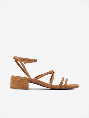 Sandaler & sandaletter - Bianco Sandalett biaDea Suede Strap Sandal