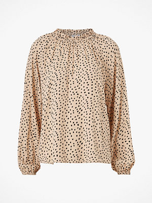 Saint Tropez Blus DreaSZ Dot Woven Blouse