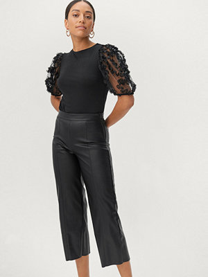Gina Tricot Byxor Holly PU Culotte Trousers