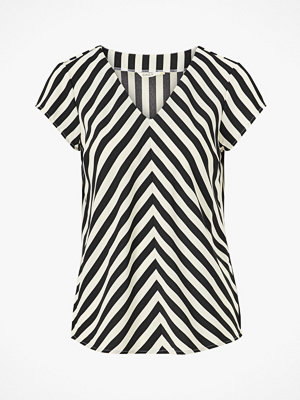 Only Blus onlLuma S/S V-neck Top Wvn