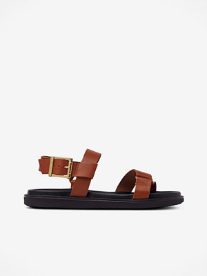 Bianco Sandaler biaDebbie Leather Strap Sandal