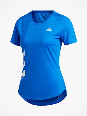 adidas Sport Performance Löpartopp Run it 3-stripes Fast Tee
