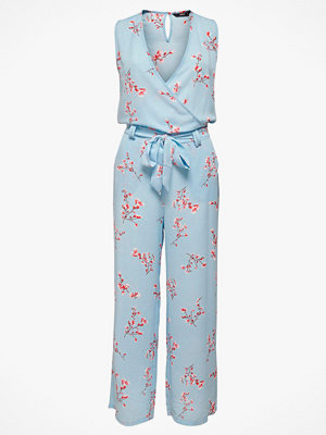 Jumpsuits & playsuits - Only Jumpsuit onlNova Lux S/L Wrap Jumpsuit Aop Wvn