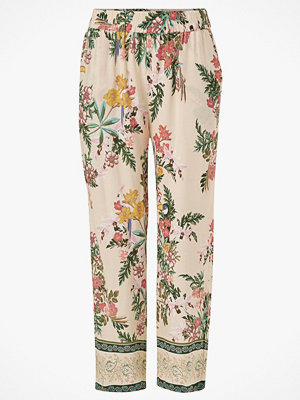 Cream Byxor JeanettaCR Pants mönstrade
