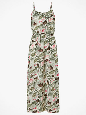 Only Maxiklänning onlNova Lux S/L Maxi Dress Aop