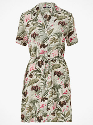 Only Skjortklänning onlNova Lux S/S Button Dress Aop Wvn