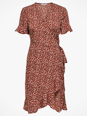 Only Omlottklänning onlOlivia S/S Wrap Dress Wvn