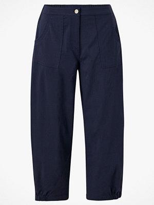 Gozzip Byxor Baggy Pants marinblå