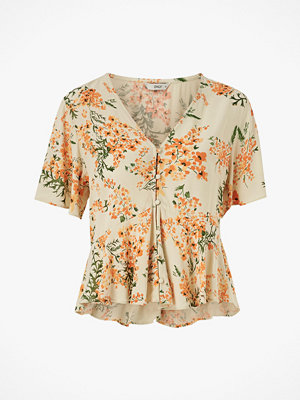 Only Blus onlFloria SS Top Wvn