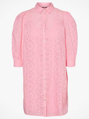 Vero Moda Skjortklänning vmEmma 3/4 Emb Shirt Dress