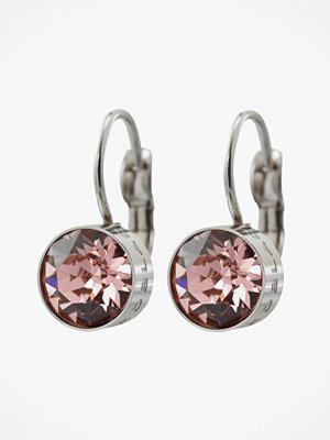 Edblad smycke Diana Earrings Bubble Gum Crystal Steel