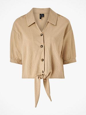 Vero Moda Blus vmChloe 2/4 Tie Shirt