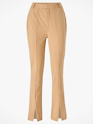 Vero Moda Byxor vmCitrus H/W Slit Pant beige