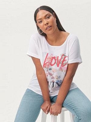 Zizzi Topp mSarai S/S T-shirt