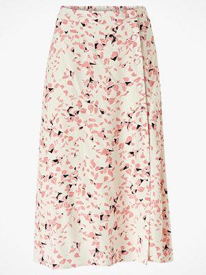 Selected Femme Kjol slfRebekka MW Midi Slit Skirt B