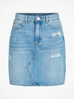 Vila Jeanskjol viRosabell HW Short Denim Skirt