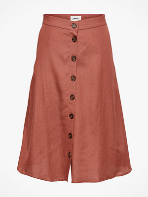 Only Kjol onlViva Life HW Button Skirt