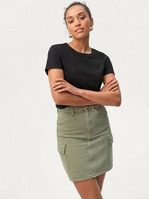 Gina Tricot Jeanskjol Cargo Denim Skirt
