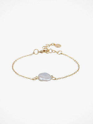 SNÖ of Sweden smycke Armband Maxime Pearl Chain Bracelet