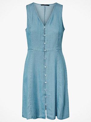 Vero Moda Klänning vmLena SL Button Midi Dress