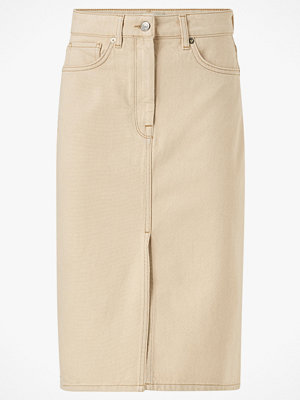 Selected Femme Jeanskjol slfMay Jade White Denim Skirt