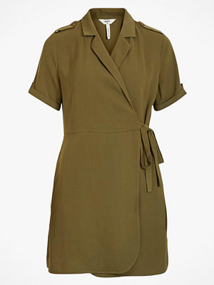 Object Omlottklänning objMae S/S Wrap Dress