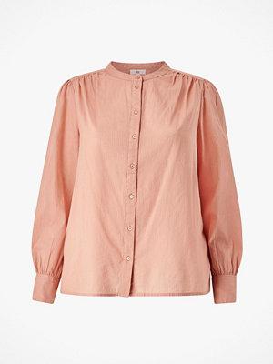 La Redoute Skjorta med rund halsringning och lång puffärm