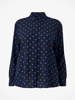 La Redoute Prickig blus med lång ärm