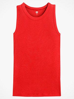 La Redoute Smalribbat linne med rund halsringning