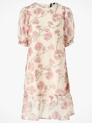 Vero Moda Klänning vmInes S/S Flower Organza Calf Dress