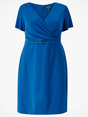 Lauren Ralph Lauren Curve Klänning Bonded Mj Dress W Belt
