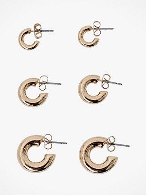 Vero Moda smycke Örhängen vmHasna Creols 3-pack