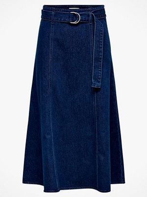 Only Jeanskjol onlRonja HW Belted Dnm Skirt
