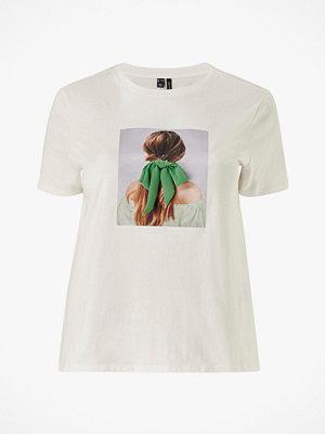 Toppar - Vero Moda Curve Topp vmFlansa Girls S/S T-shirt Curve
