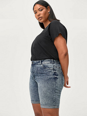 Shorts & kortbyxor - Zizzi Jeansshorts jAlba High Waist Shorts