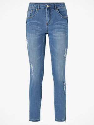 Culture Jeans cuSheila MW Distressed Jeans