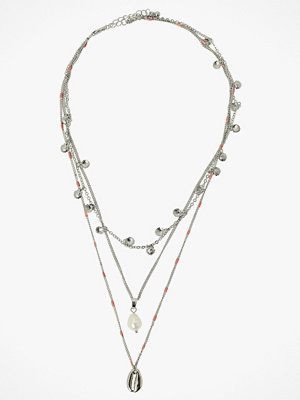 Pieces smycke Halsband pcMolly Combi Necklace D2D