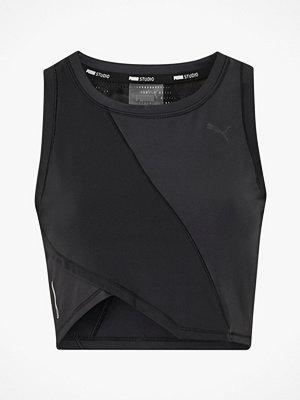 Sportkläder - Puma Träningstopp Studio Crop Lace Tank