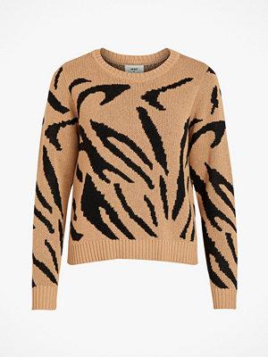 Object Tröja objGraz Animal L/S Pullover