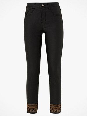 Cream svarta byxor Jeans GabyCR Pants - Katy