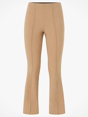 Vero Moda Byxor vmVictoria H/W Pleat Ancle Legging beige