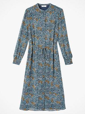 La Redoute Rak, blommig skjortklänning med lång ärm