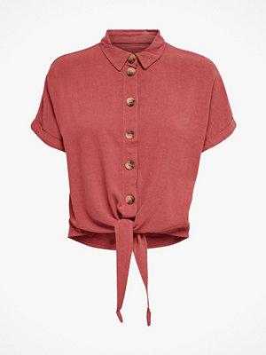 Only Blus onlMilen Livinia Life SS Linen Dnm Shirt