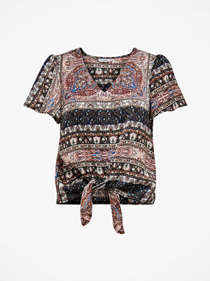 Only Blus onlCecilia S/S V-neck Top Wvn
